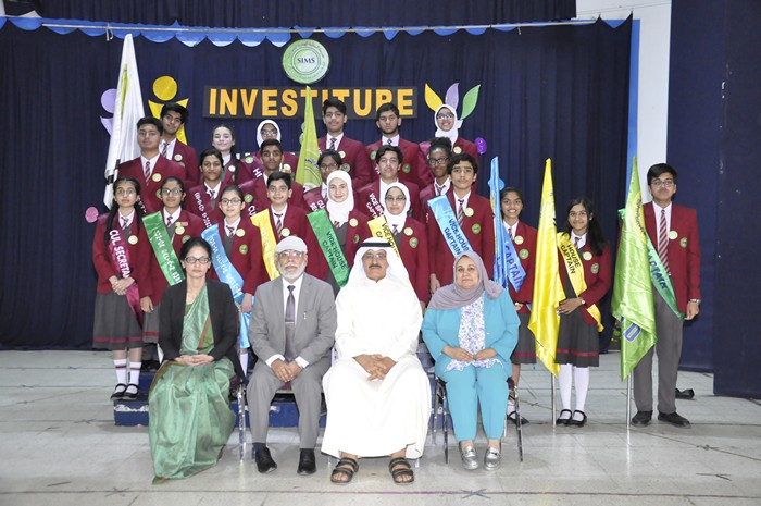 SIMS endows students with responsibilities at Investiture