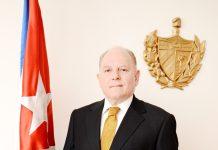 His Excellency Andrés González Garrido, Ambassador Extraordinary and Plenipotentiary of the Republic of Cuba.