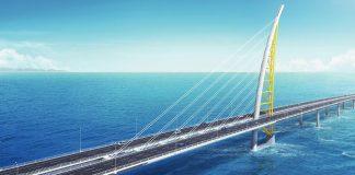 Jaber Al-Ahmad bridge, Kuwait