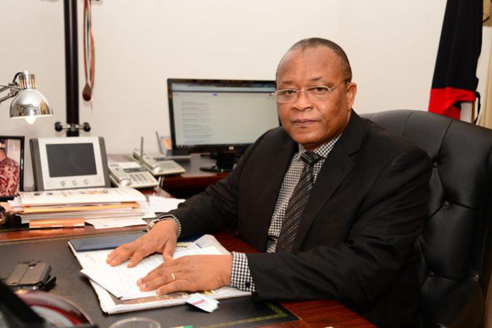 Sierra Leone ambassador H.E. Ambassador Ibrahim Bakarr Kamara