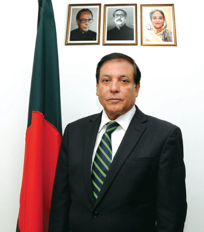 H.E. Syed Shahed Reza, Ambassador of People's Republic of Bangladesh to the State of Kuwait